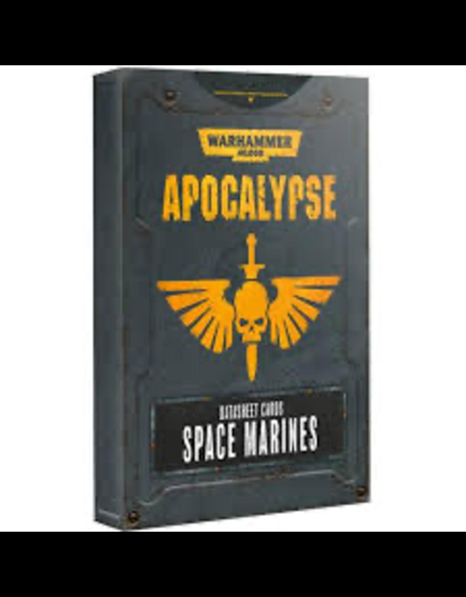 Games Workshop Apocalypse: Space Marines: DataSheets