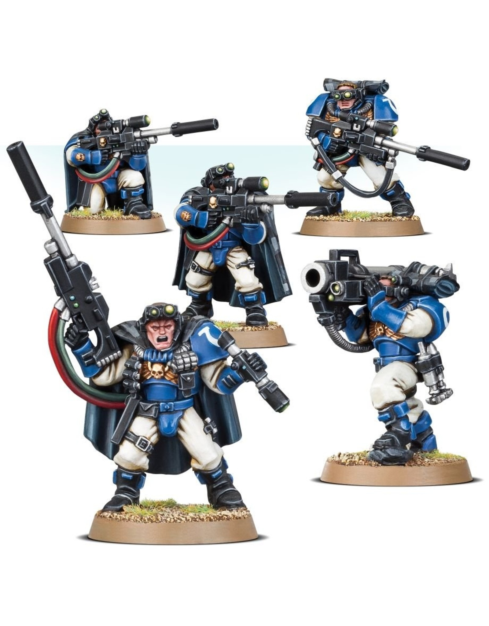 Games Workshop Space Marines: Scouts with Sniper Rifles