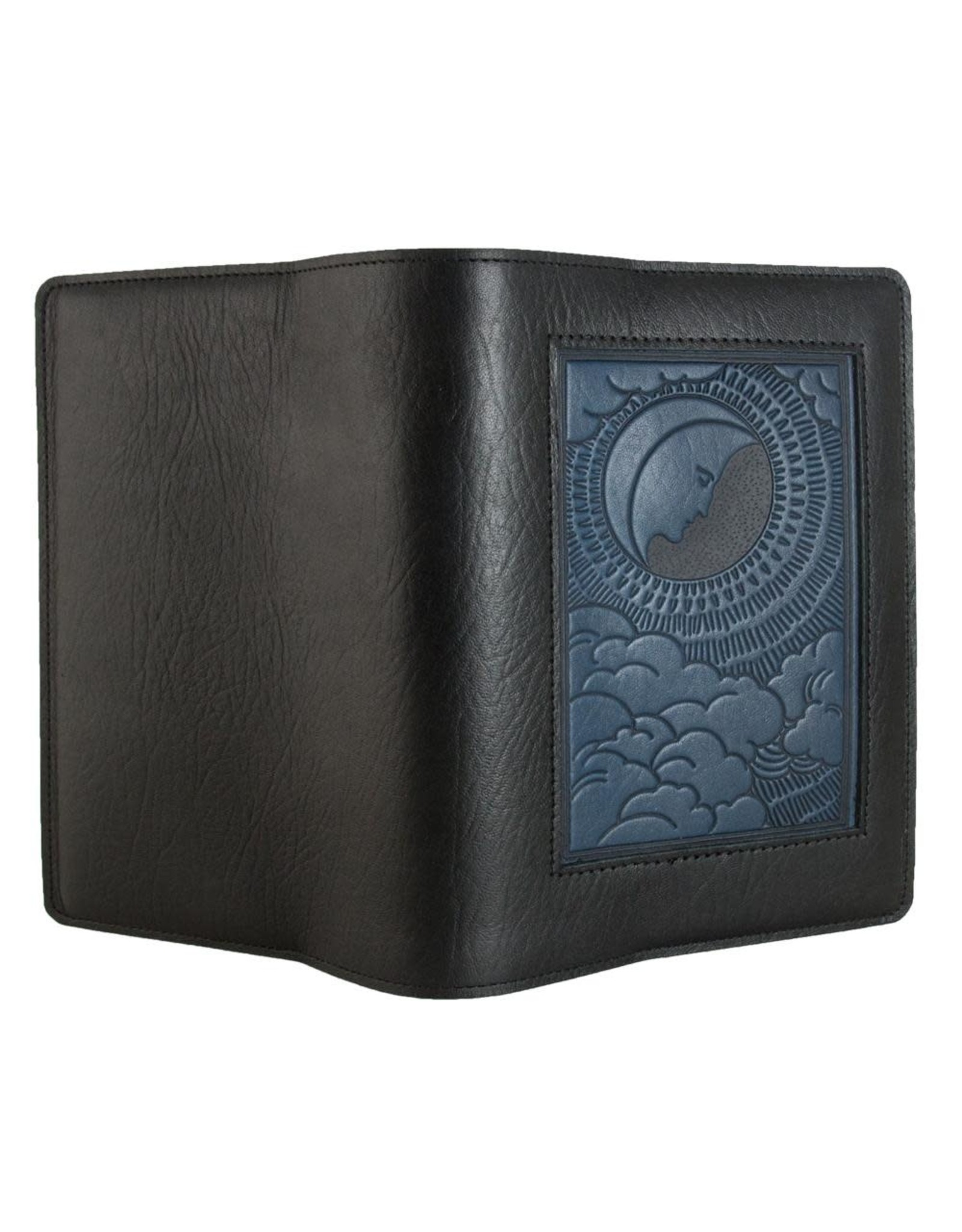 Oberon Design Large Icon Panel Leather Journal