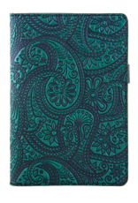 Oberon Design Leather Paisley Portfolio