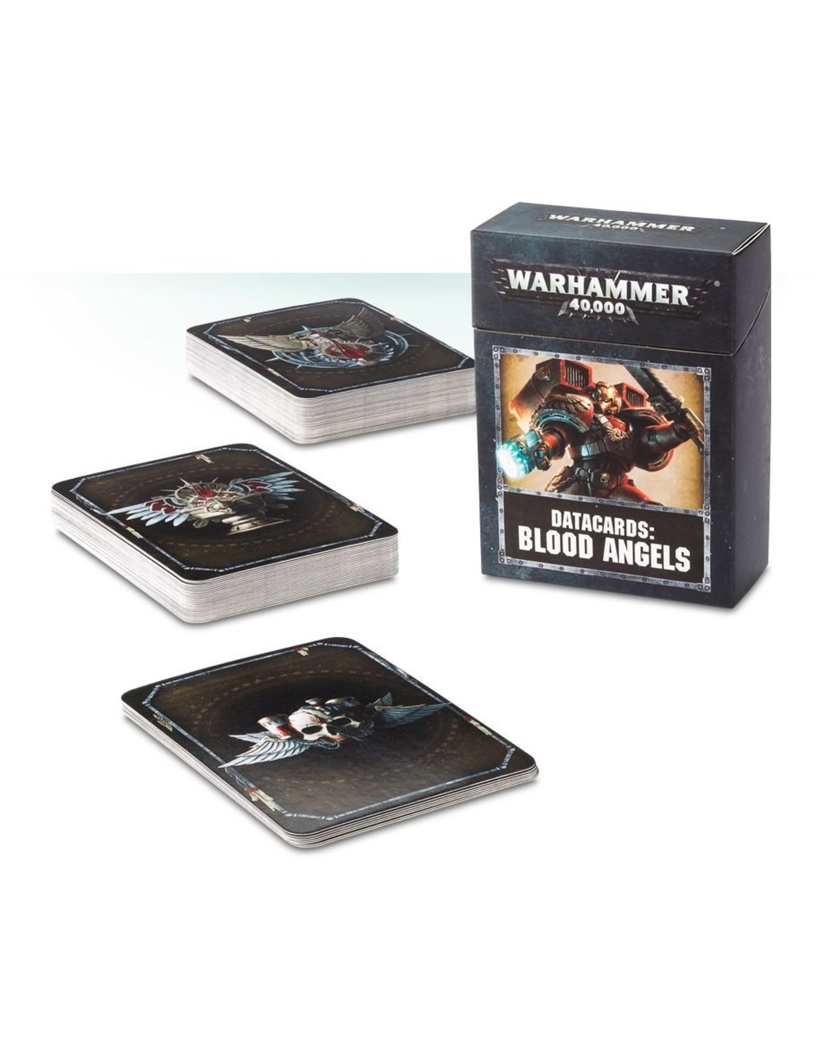 Games Workshop Blood Angels: 8th Ed Data Cards