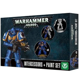 Games Workshop Space Marines: Paint Set + Easy to Build