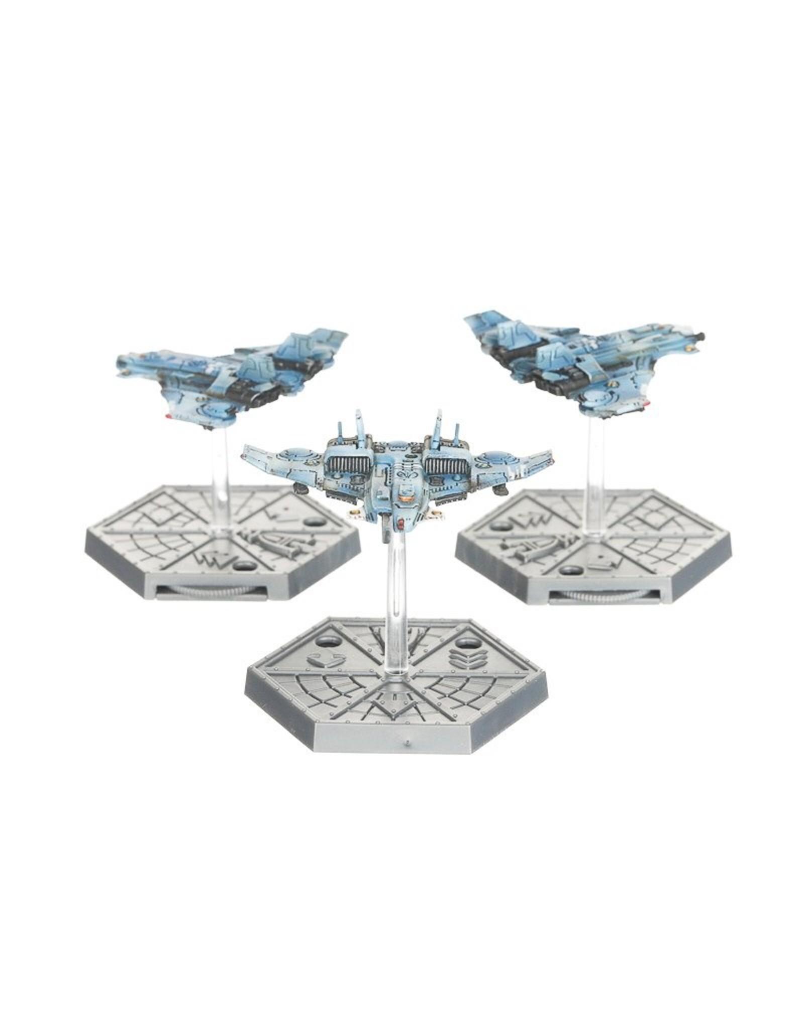 Games Workshop Aero/Imperialis: T'au Air Caste Barracuda Fighters