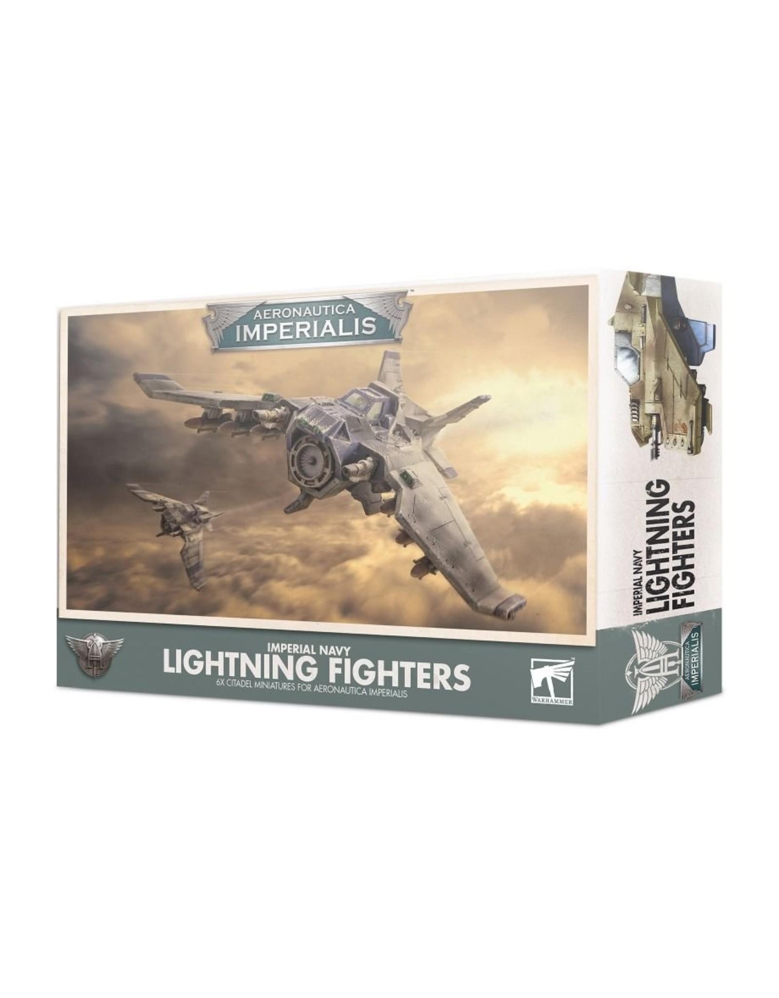 Games Workshop Aero/Imperialis: Imperial Navy Lightning Fighters