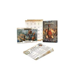 Games Workshop Fyreslayers Warscroll Cards
