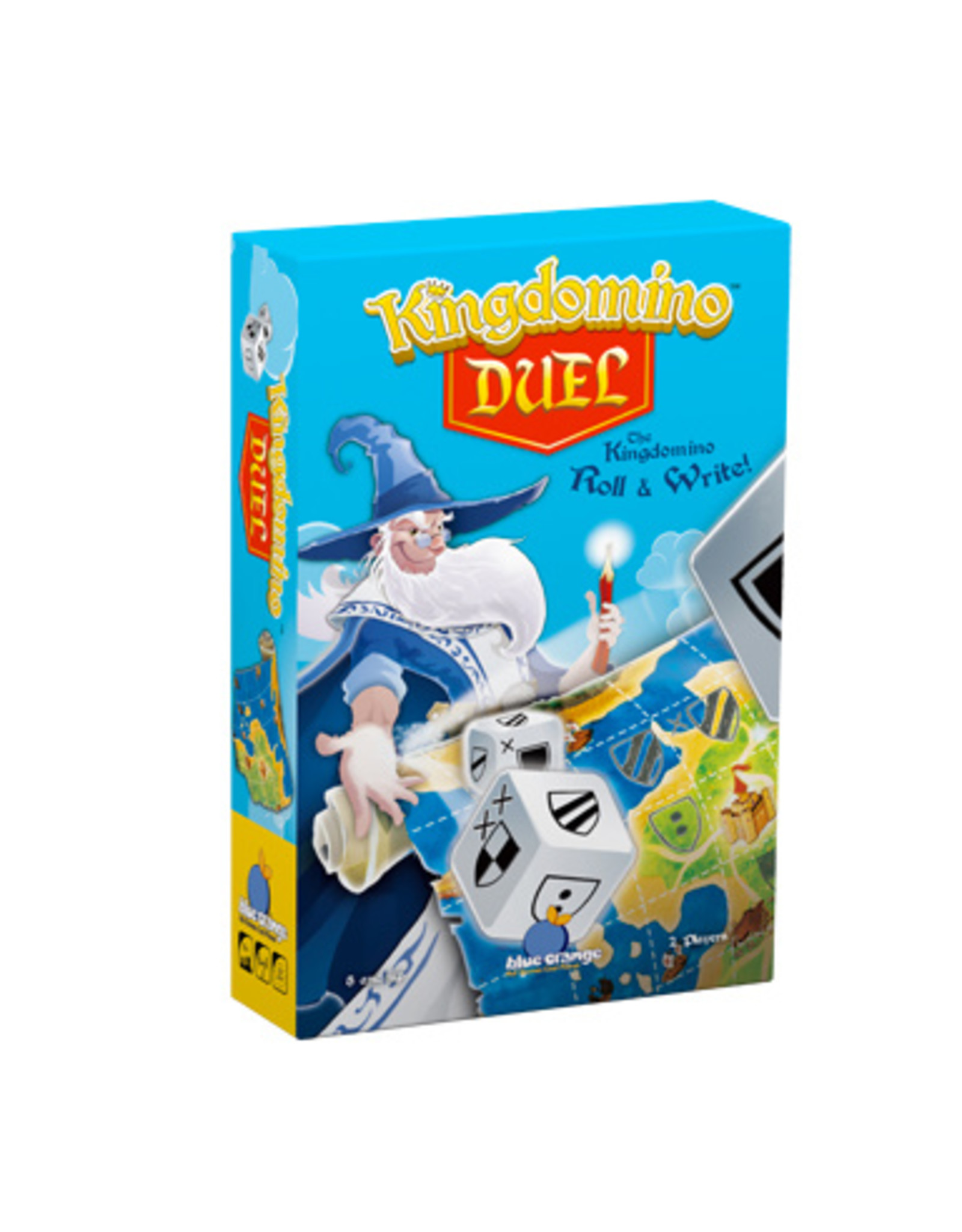 Blue Orange Games Kingdomino Duel