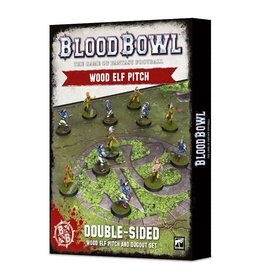 Games Workshop Blood Bowl: Wood Elves Pitch & Dugout