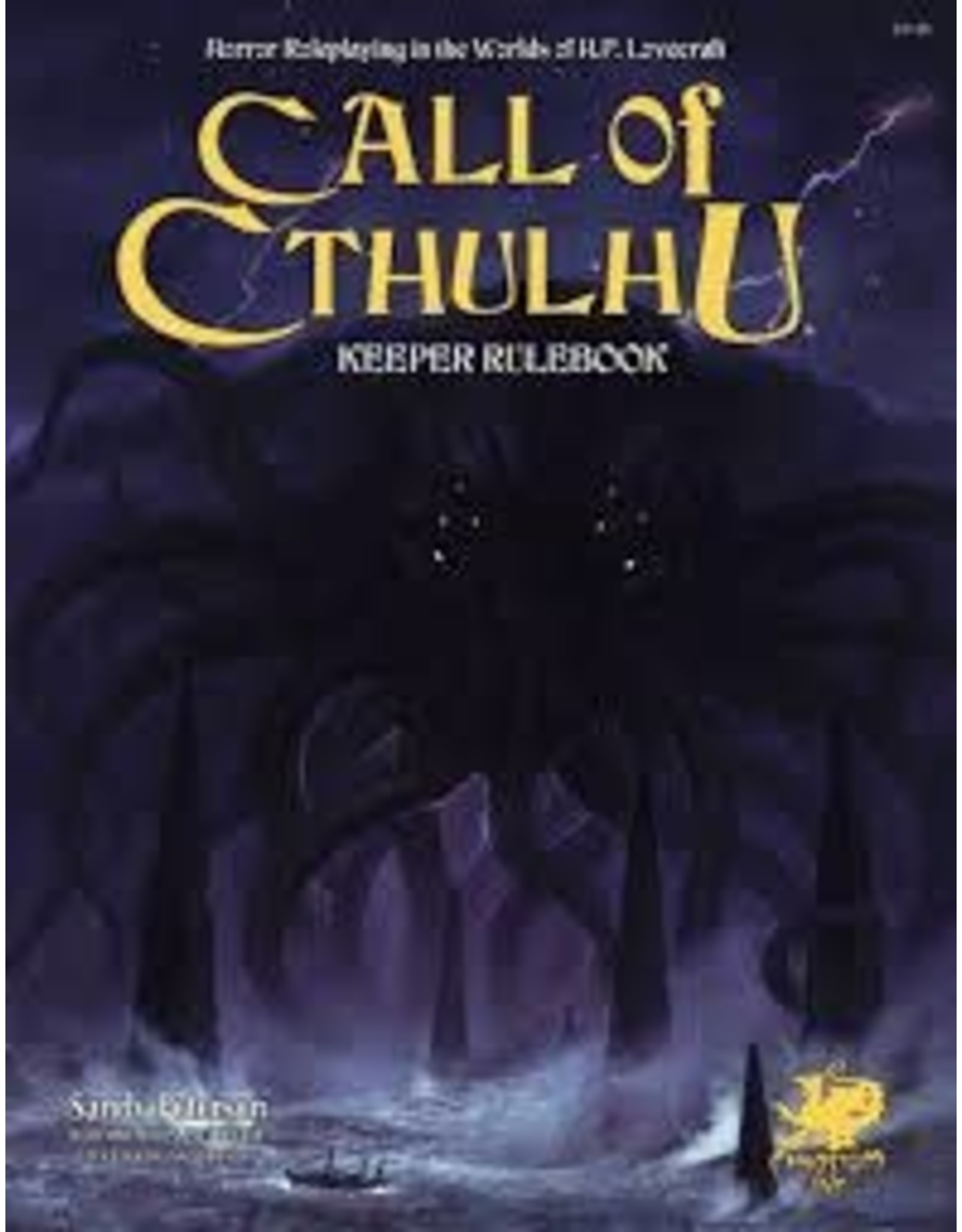 Chaosium Call of Cthulhu 7E: Keeper Rulebook