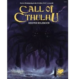 Chaosium Call of Cthulhu 7E: Keeper Rulebook
