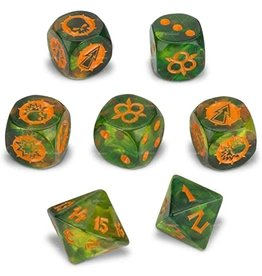 Games Workshop Blood Bowl: Nurgle's Rotters Dice