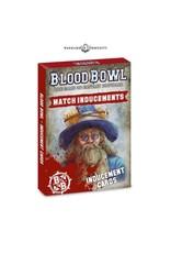 Games Workshop Blood Bowl: Inducements Cards