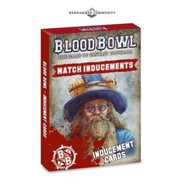 Games Workshop Blood Bowl: Inducements Cards