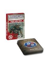 Games Workshop Blood Bowl: Goblin Team Cards