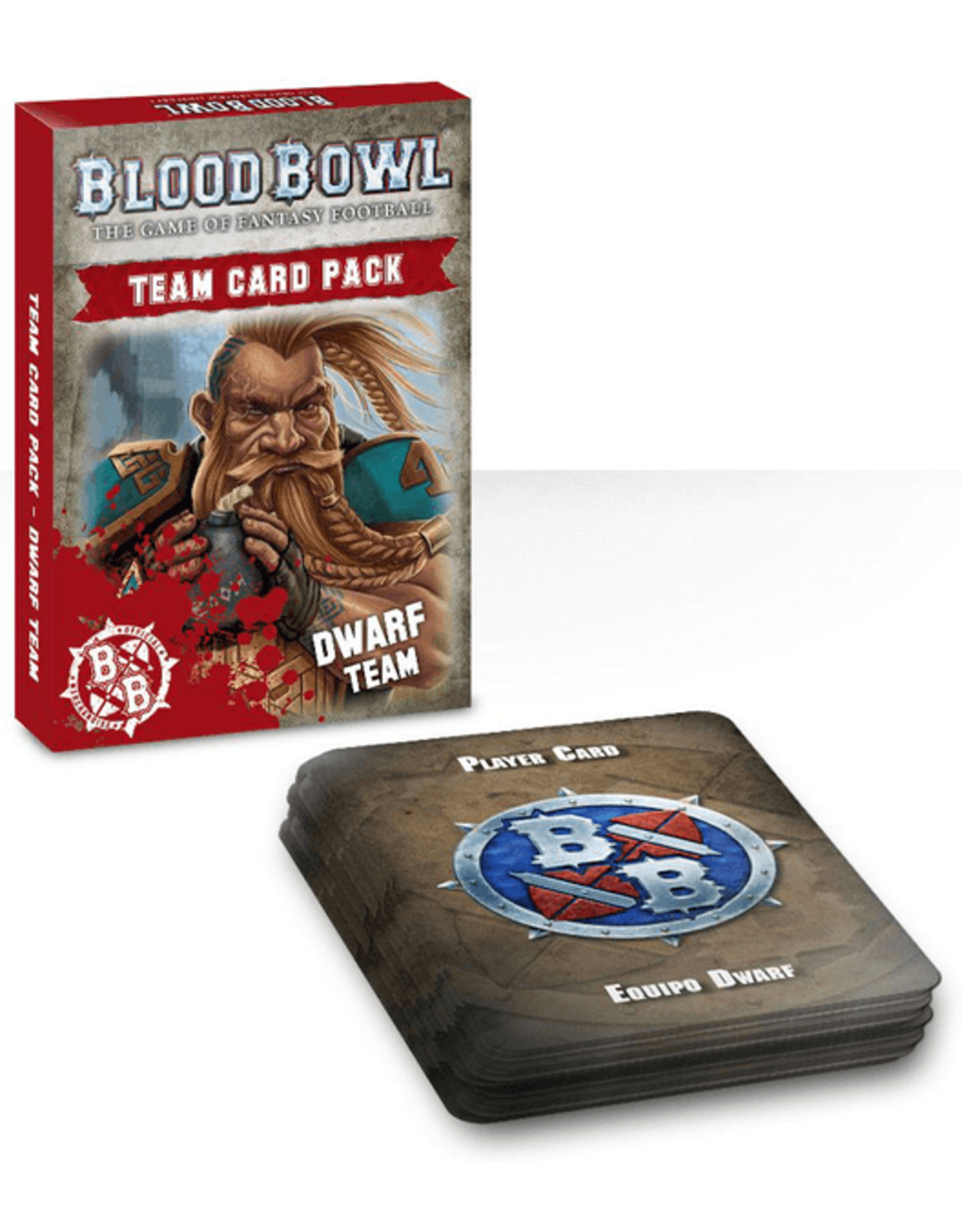 Games Workshop Blood Bowl: Dwarf Cards