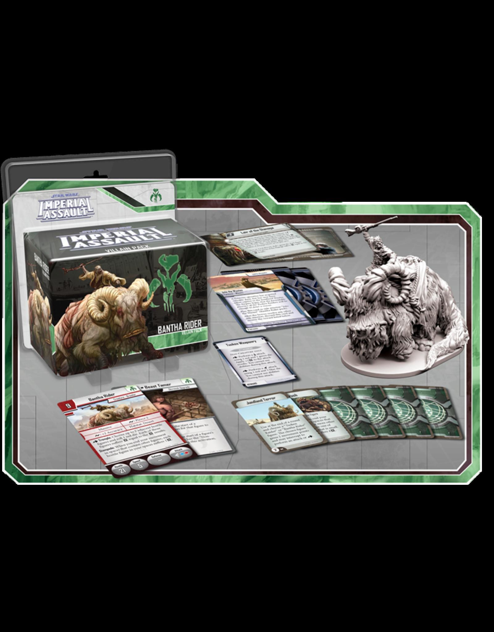 Fantasy Flight Games Star Wars Imperial Assault: Bantha Rider Villain Pack