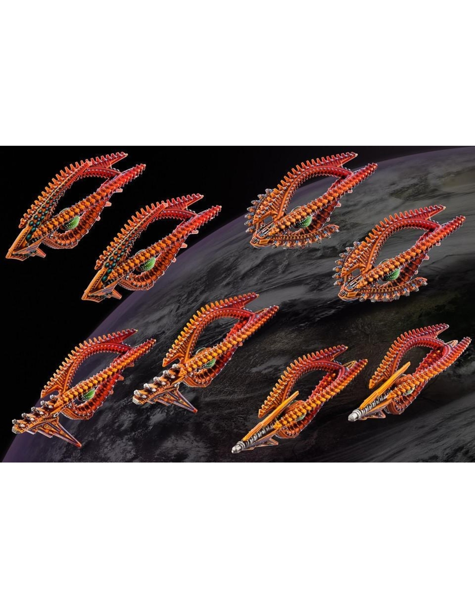 Hawk Wargames Dropfleet Commander: Shaltari Frigate Box