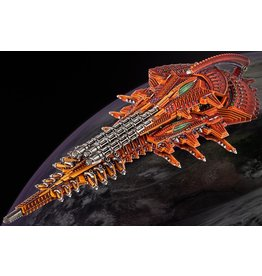 Hawk Wargames Dropfleet Commander: Shaltari Diamond/Platinum Battleship