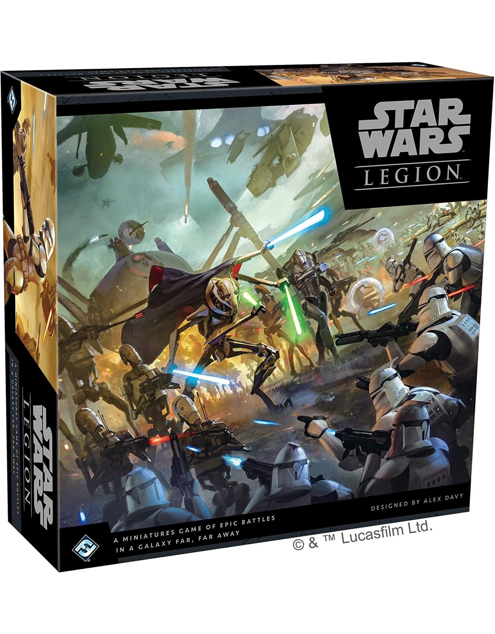 Fantasy Flight Games Star Wars Legion: Core Set Clone Wars Core Set