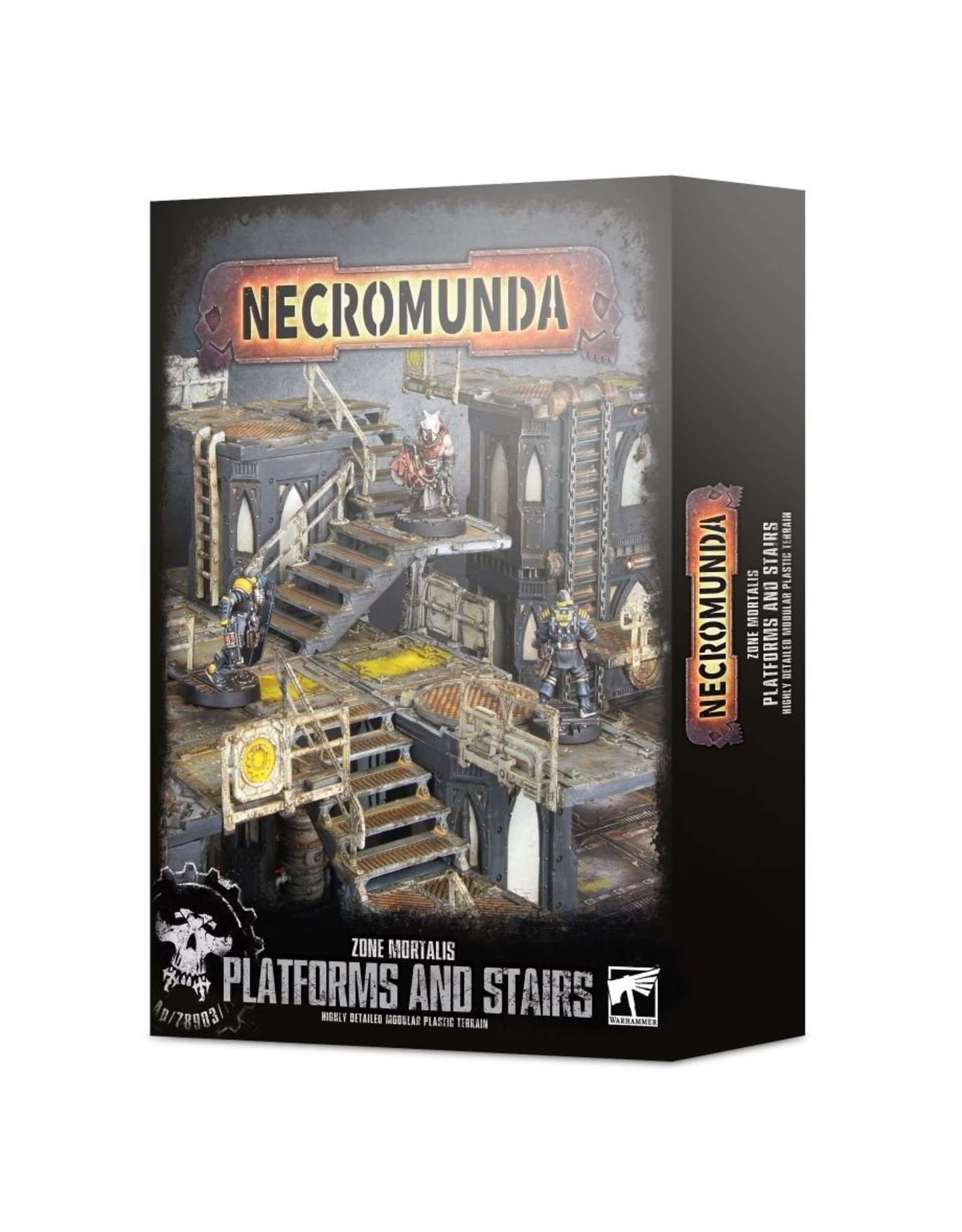 Games Workshop Zone Mortalis: Platforms & Stairs