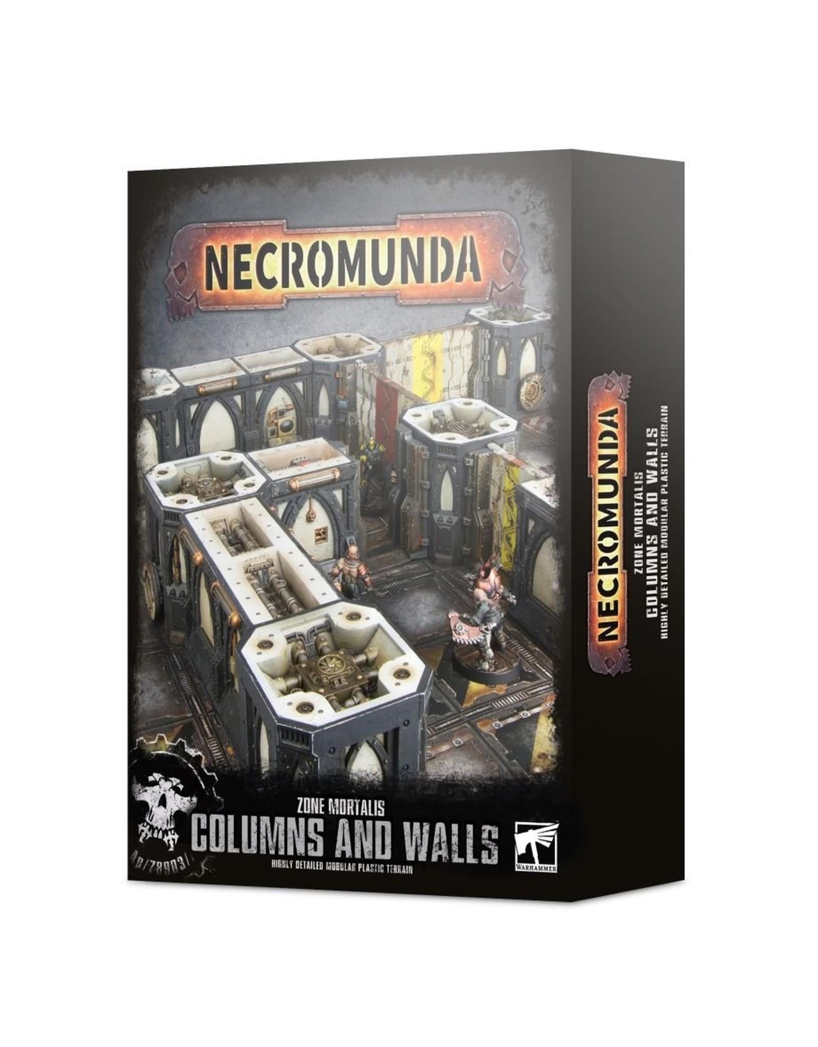 Games Workshop Zone Mortalis: Columns & Walls