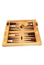 John Hansen Deluxe Wood Tabletop Backgammon