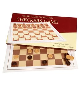 John Hansen Checkers with Wood Pieces