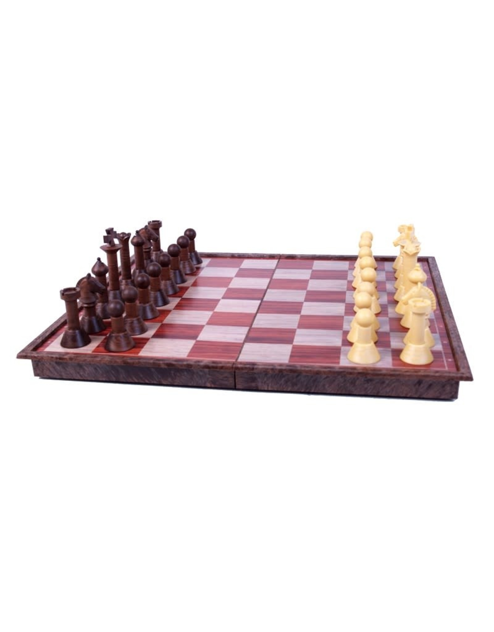 "John Hansen ""Woody"" Magnetic Chess Set"