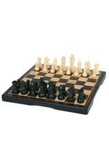 "John Hansen 11"" Ebony 3-in-1 Folding Chess Set"
