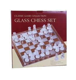 John Hansen Glass Chess Set