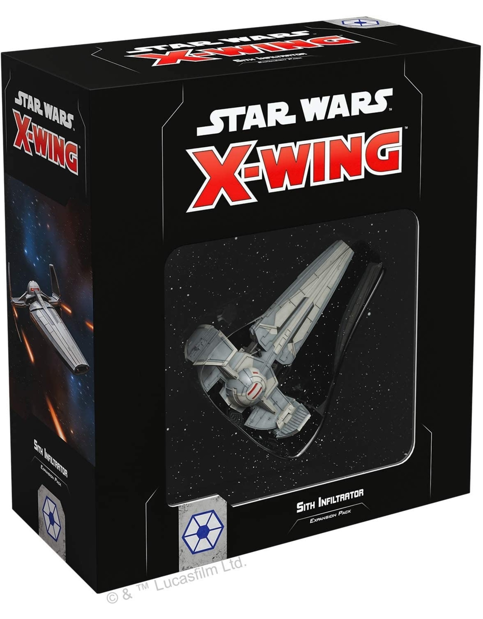 Fantasy Flight Games Star Wars X-Wing: Sith Infiltrator Expansion Pack 2nd ed
