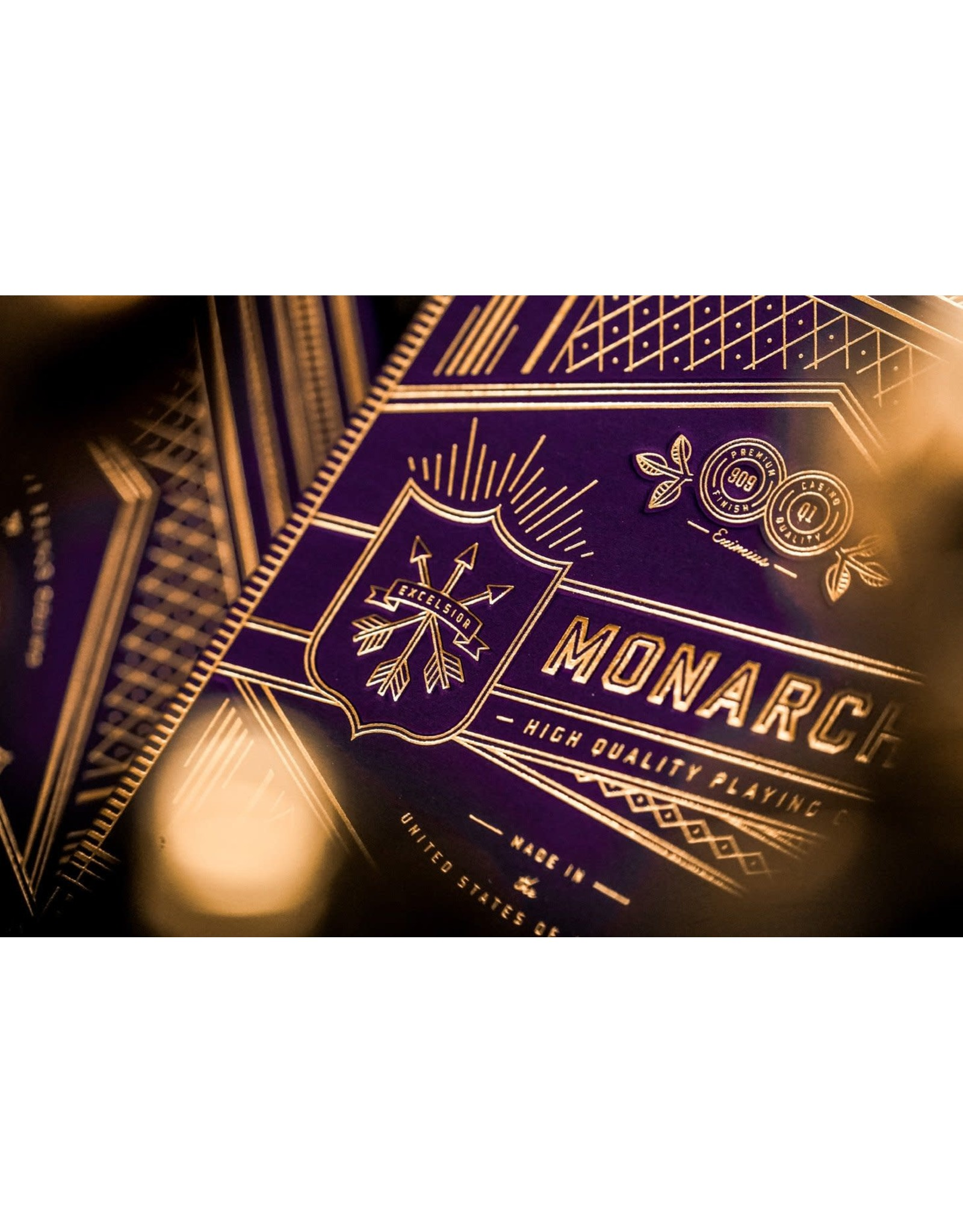 Theory 11 Purple Monarch Playing Cards