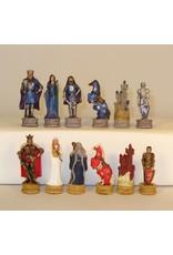 """Worldwise Imports 3.25"""" King Arthur Chessmen: Resin"""