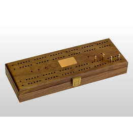 Alex Cramer Co. Mariner Domino Set with Walnut Box