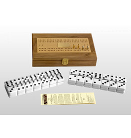Alex Cramer Co. Club Alex Domino Set with Walnut Box