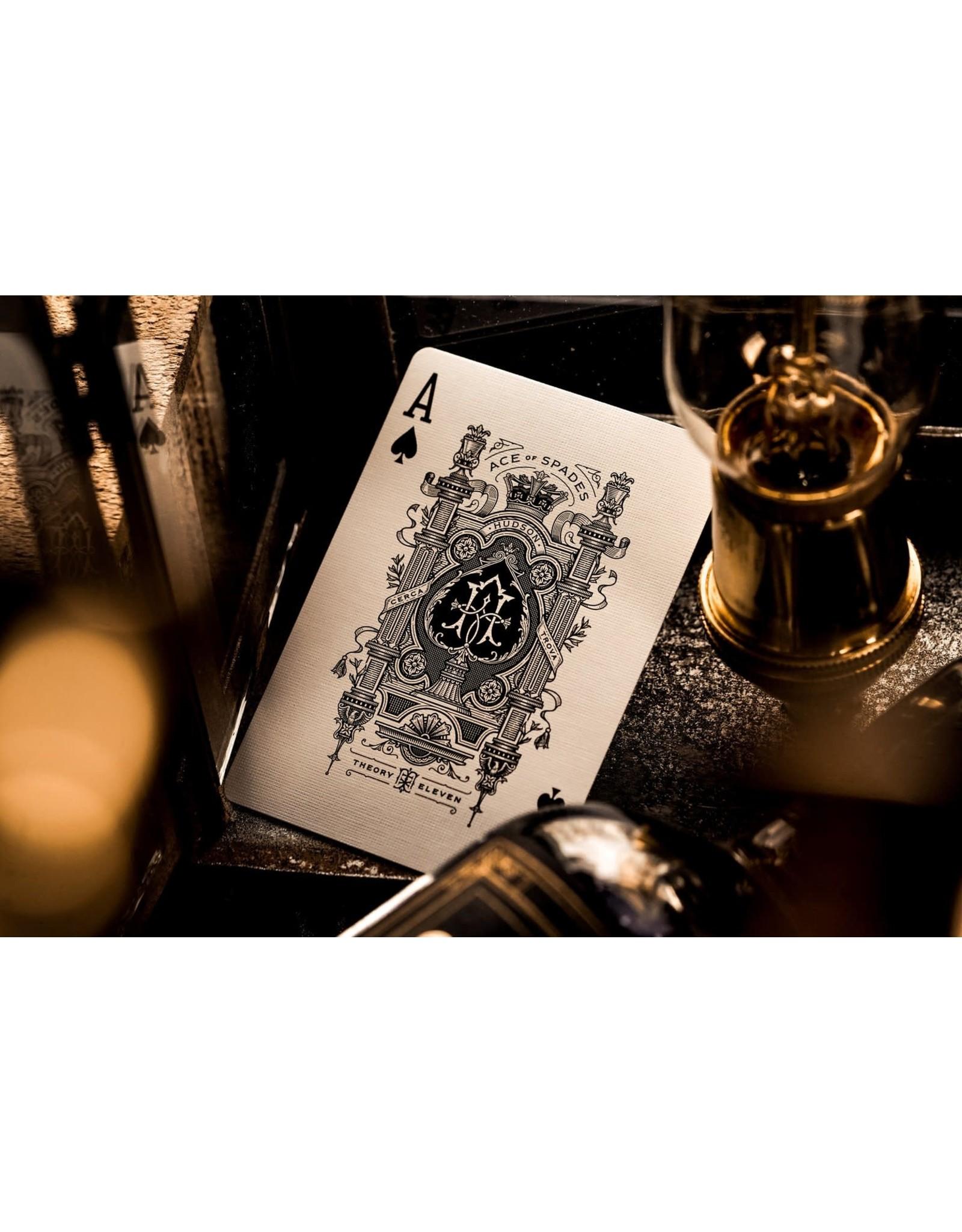 Theory 11 Black Hudson Playing Cards