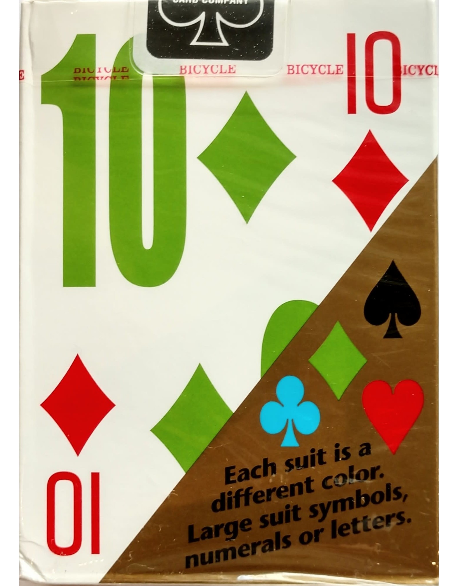 Bicycle Playing Cards E-Z-See LoVISION Playing Cards