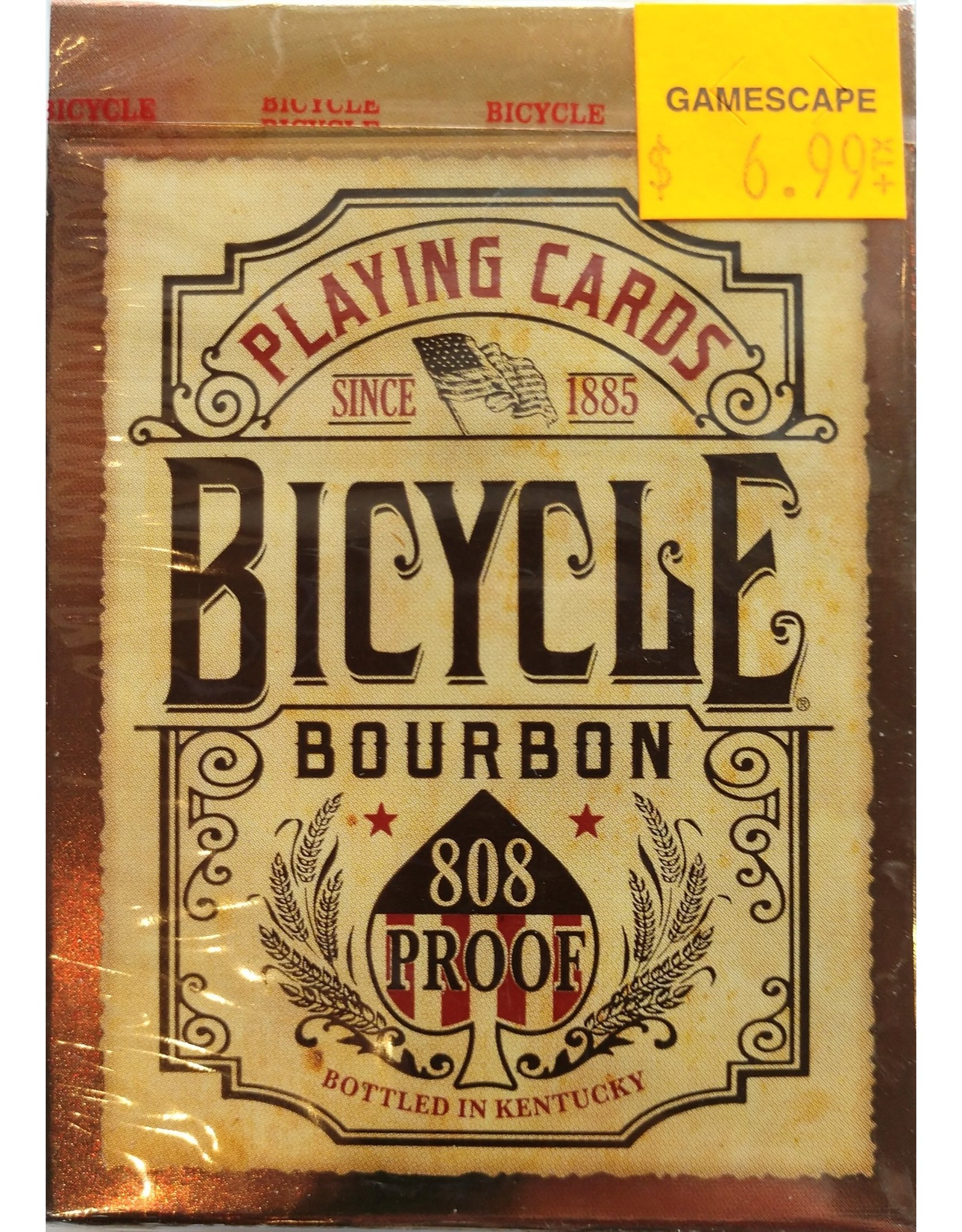 Bicycle Playing Cards Bourbon Playing Cards