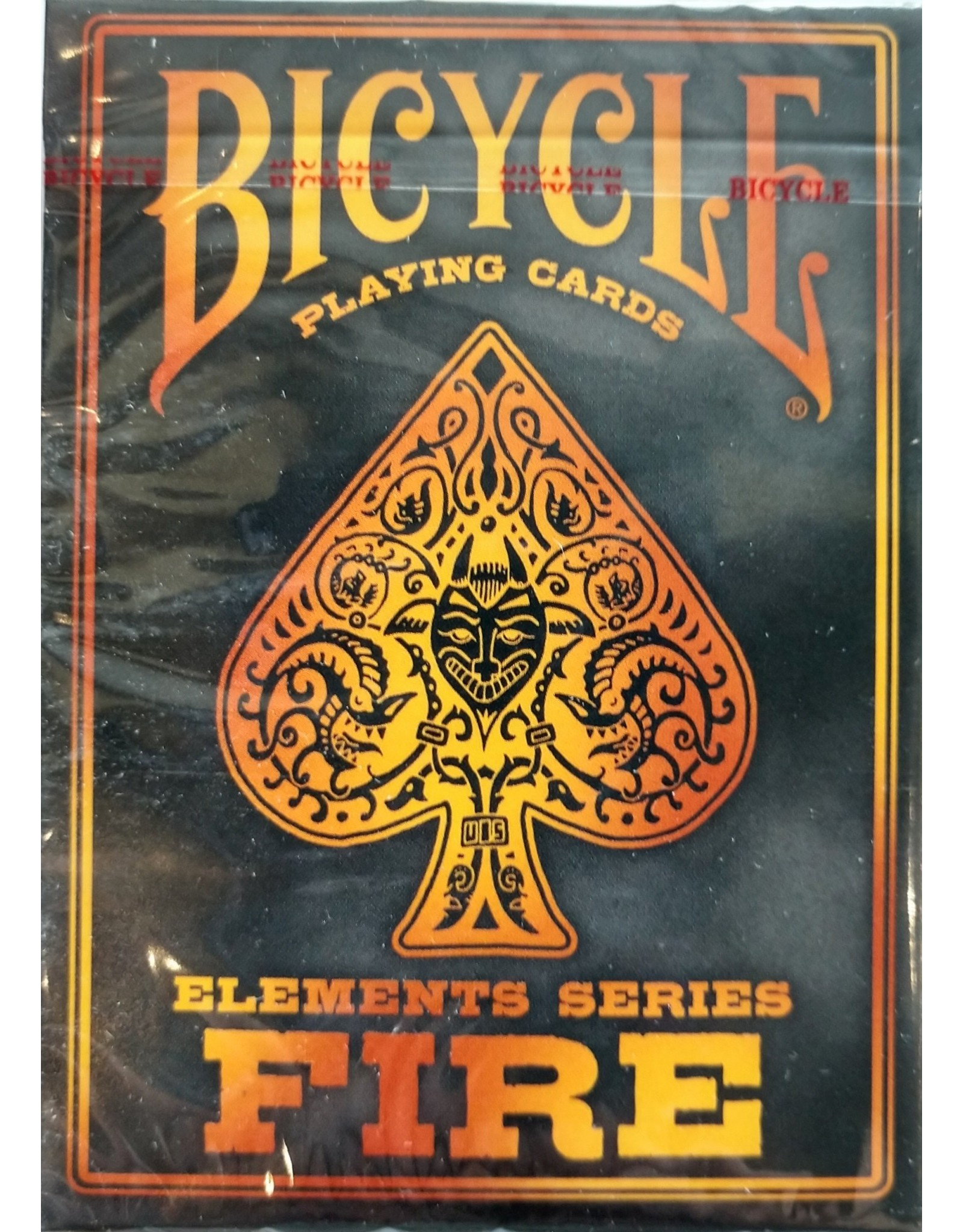 Bicycle Playing Cards Elements Series: Fire Playing Cards