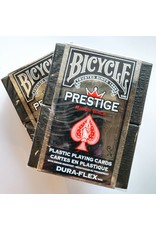 Bicycle Playing Cards Prestige Plastic Playing Cards