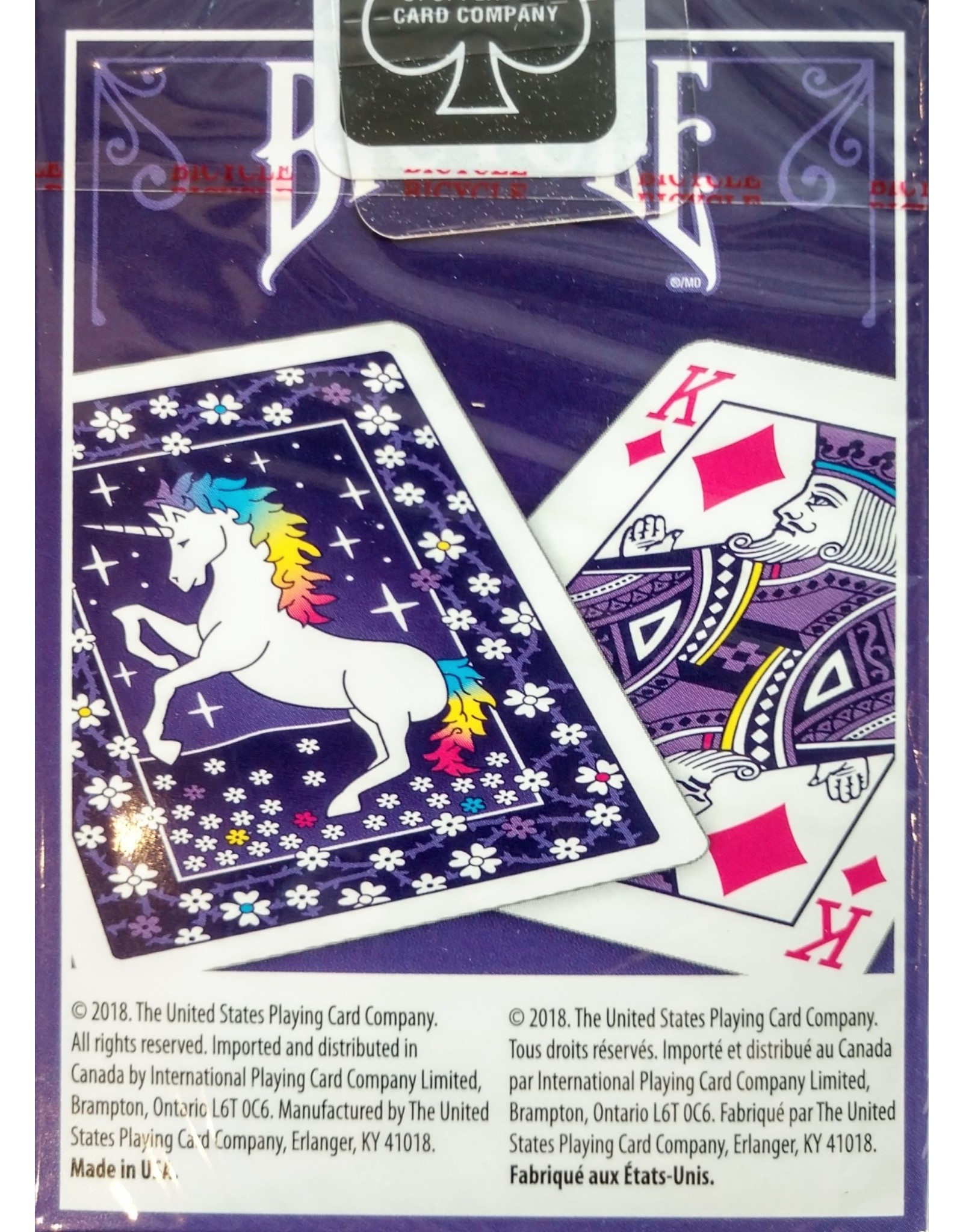 Bicycle Playing Cards Unicorn Playing Cards