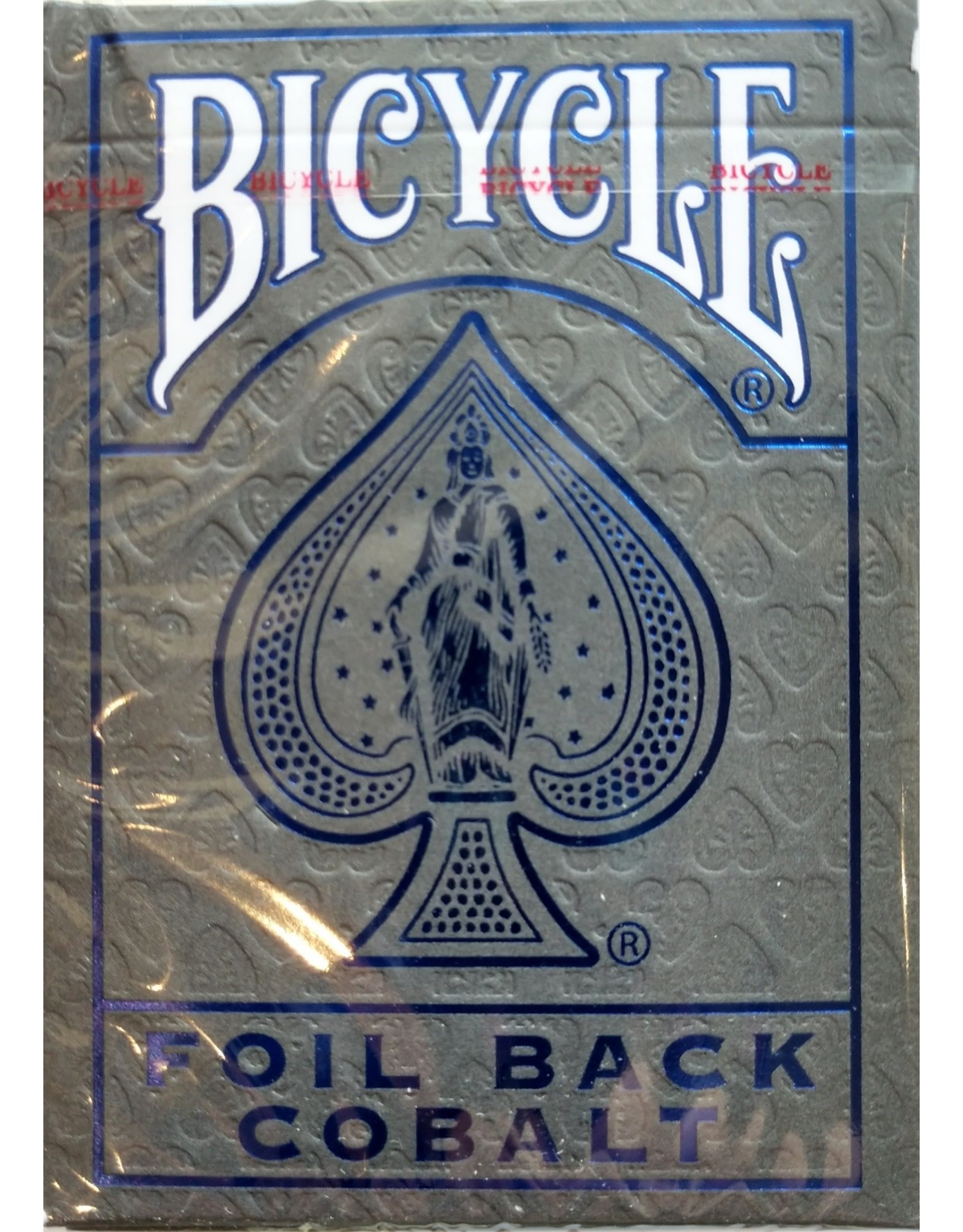 Bicycle Playing Cards Metalluxe Playing Cards Cobalt
