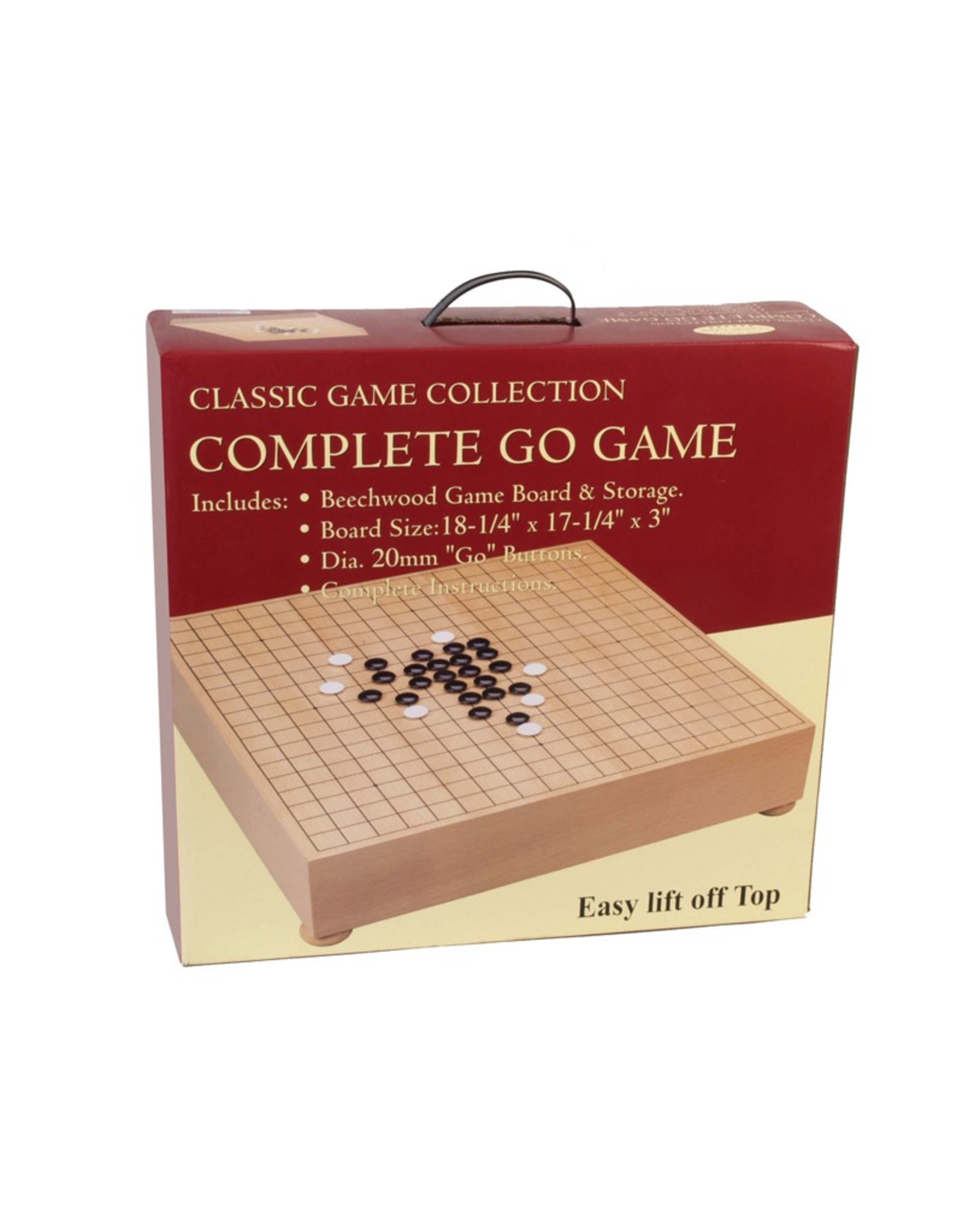 John Hansen Complete Go Game Chest
