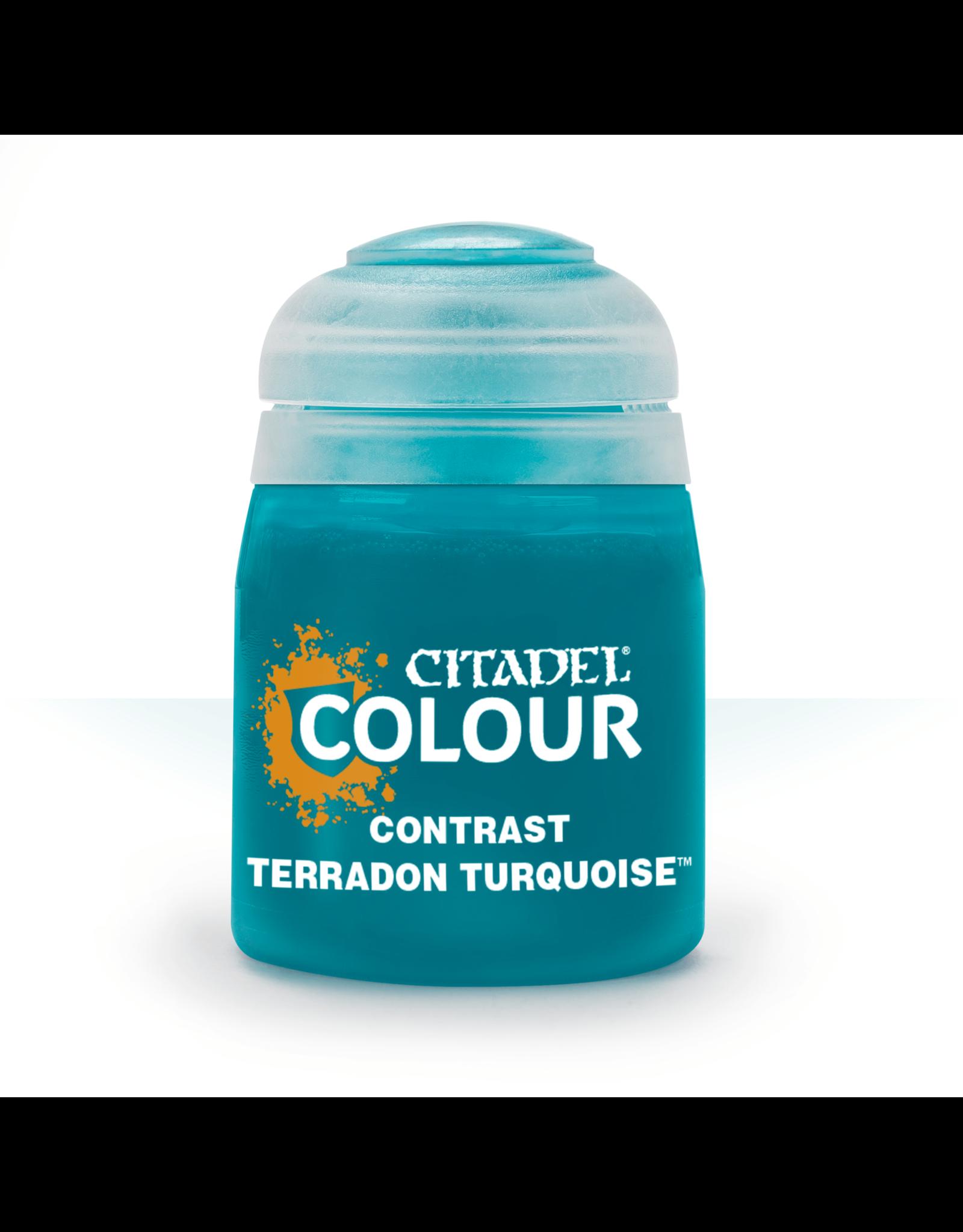 Citadel Citadel Paints Contrast Paint Terradon Turquoise