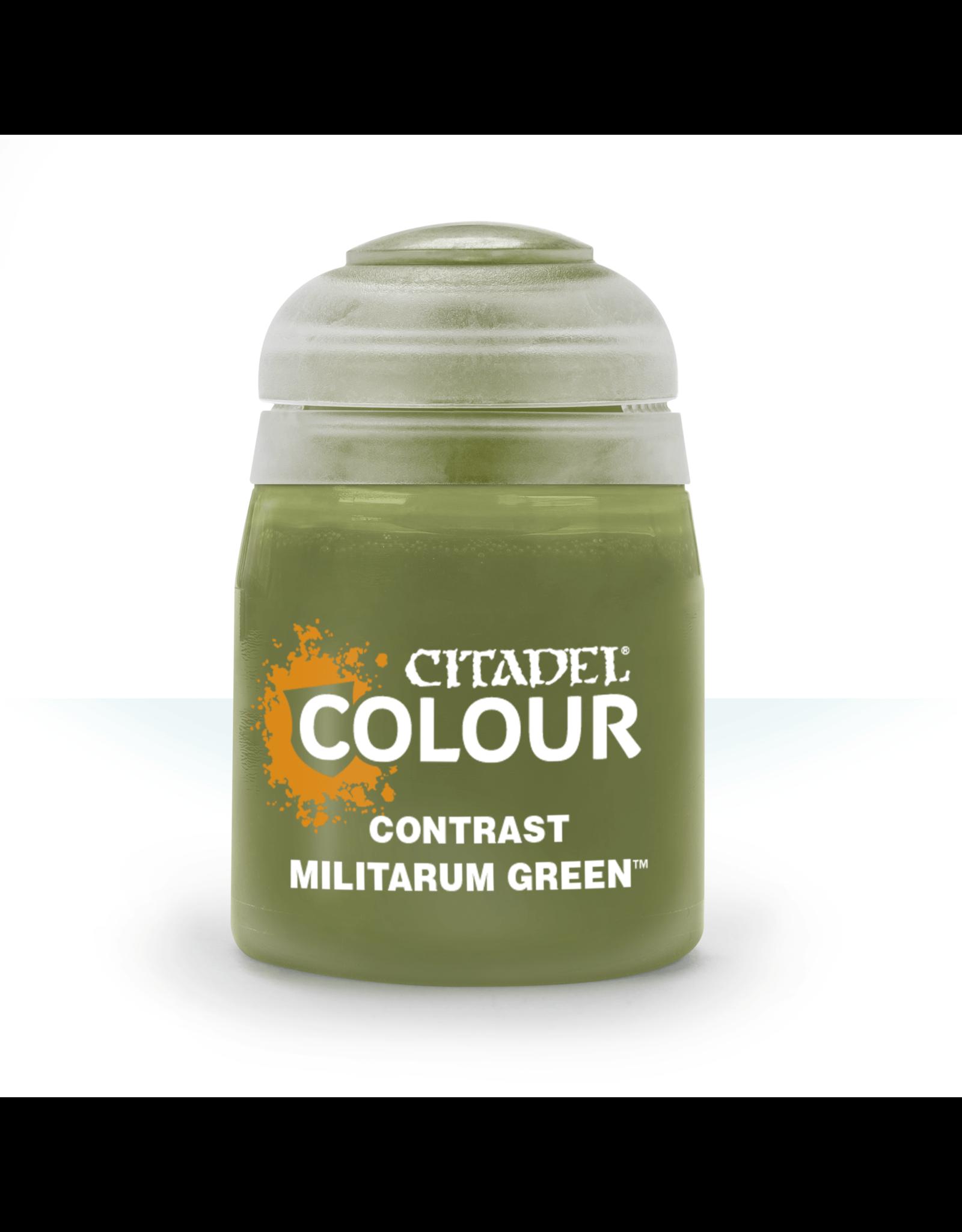 Citadel Citadel Paints Contrast Paint Militarum Green