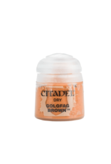 Citadel Citadel Paints Dry Paint Golgfag Brown