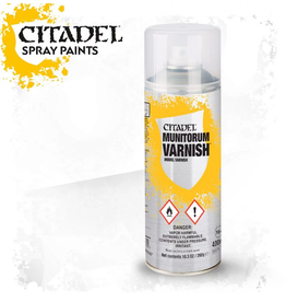 Citadel Citadel Paints Spray Paint Munitorum Varnish