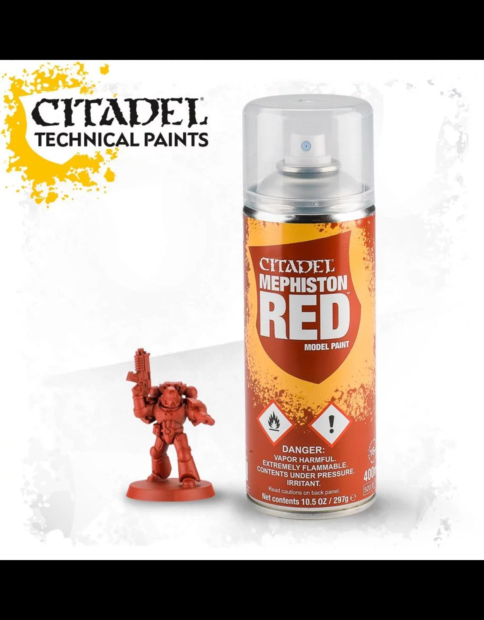 Citadel Citadel Paints Spray Paint Mephiston Red