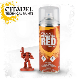 Citadel Citadel Paints Spray Paint Mephiston Red