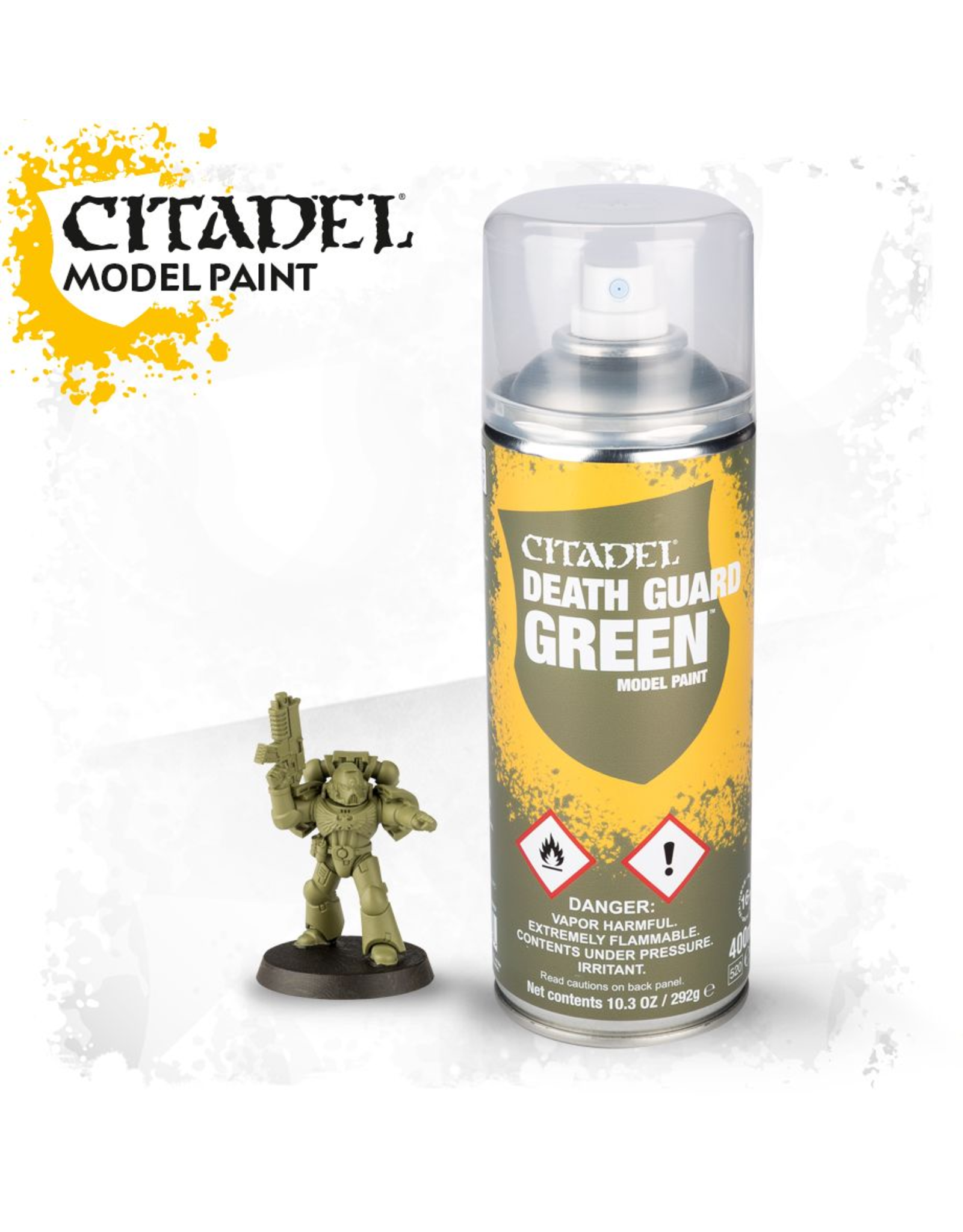 Citadel Citadel Paints Spray Paint Death Guard Green