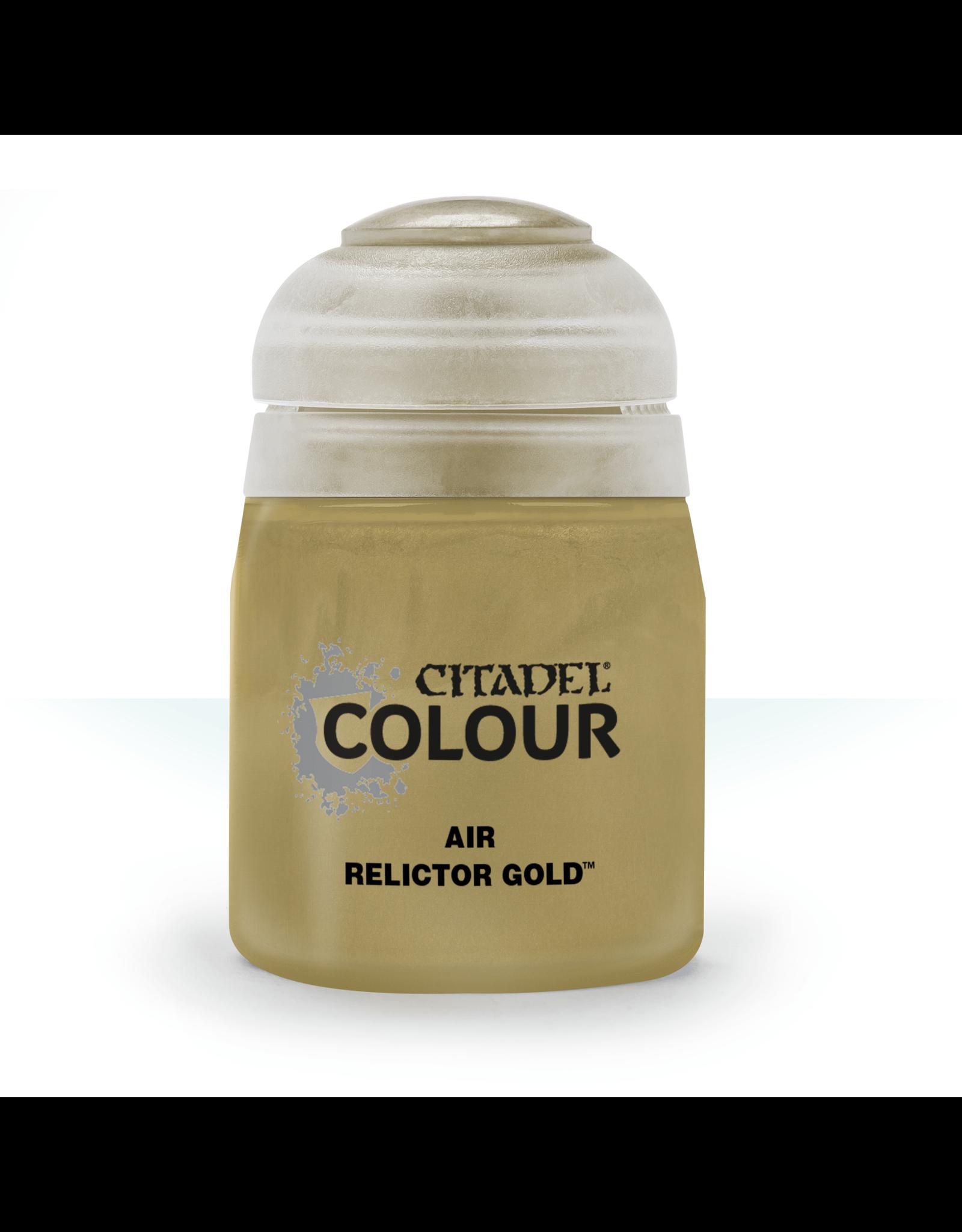 Citadel Citadel Paints Air Paint Relictor Gold